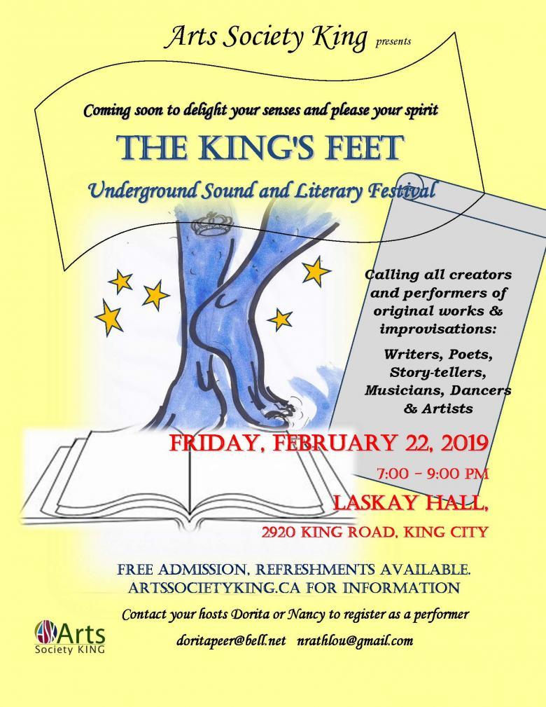Arts Society King presents the King Feet February 2019.jpg