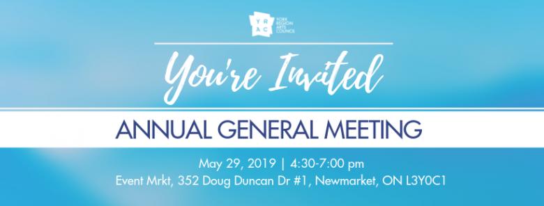 YRAC Annual General Meeting 2019