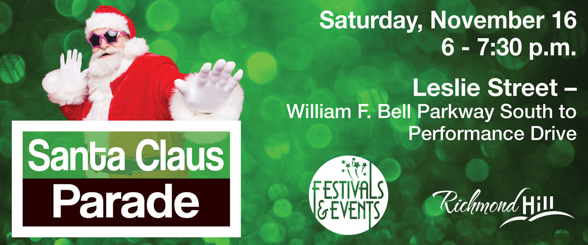 Richmond Hill Santa Clause Parade