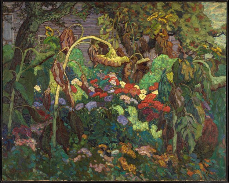 The Tangled Garden by J.E.H MacDonald.