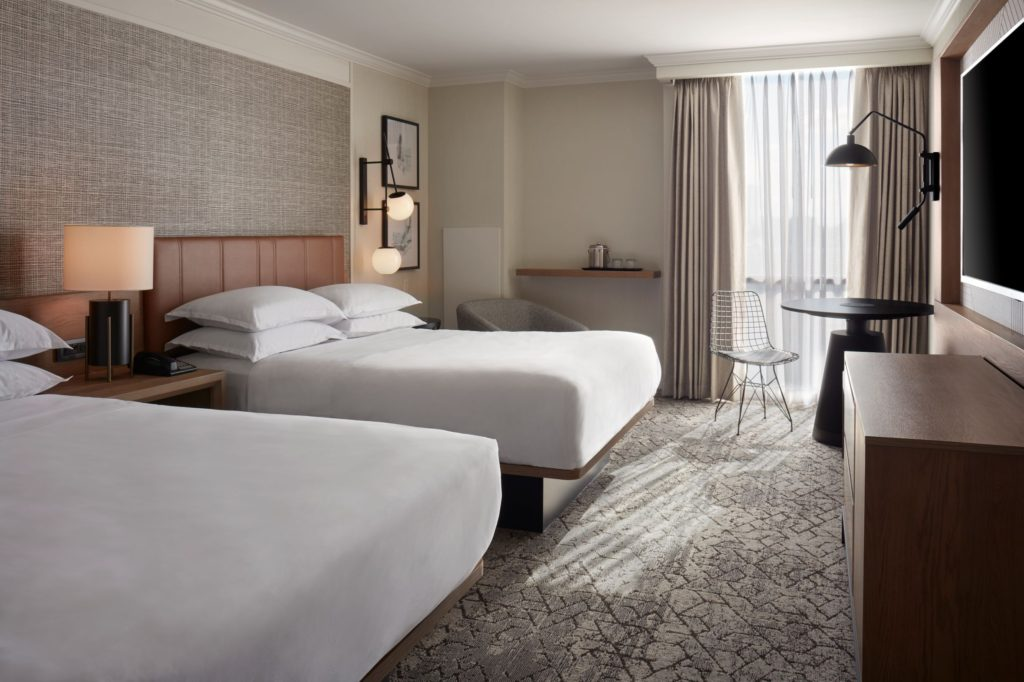 Sheraton Parkway Superior Guest Room – 2 Queens (Newly Renovated)